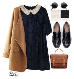 """""""#Shein"""" by credentovideos ❤ liked on Polyvore featuring Zara and Retrò"""