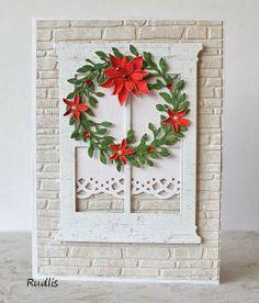 window- card christmas