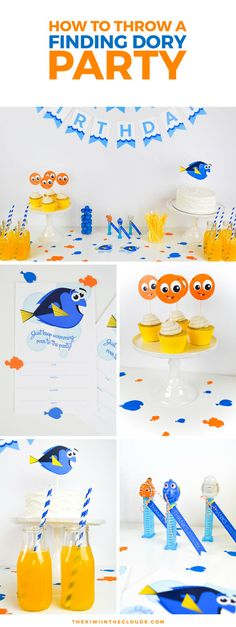 Join in on all the excitement of the Finding Nemo sequel with this Finding Dory birthday party guide that includes lots of fun & FREE printables! This Finding Dory party is sure to be a hit with your kids!