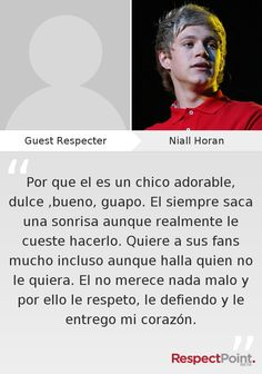 #RespectNiall