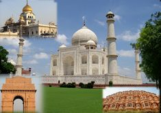 Delhi, Agra & Jaipur are the three places covered in Golden Triangle Tours.