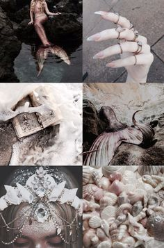 This is mostly witchy stuff. I'm also into Gothic, creepy, vintage, witchy, photos. Dark Mermaid, Siren Mermaid, Mermaid Art, The Little Mermaid, Mermaid Cove, Witch Aesthetic, Aesthetic Collage, Character Aesthetic, Mermaid Pictures