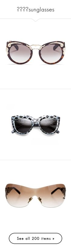 0f83c7cfda1b sunglasses by georginalan on Polyvore featuring polyvore