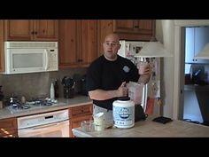 Low Cal Protein Smoothie With Banana, Raspberries, OJ And Yogurt