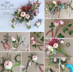 Diy eucalyptus bouquet wedding inspiration pinterest silk vintage glam bridal bouquet made with premium quality faux flowers from afloral by southern girl weddings diywedding mightylinksfo