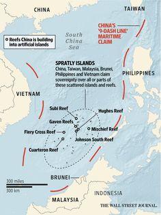 U.S. patrols in South China Sea to test Xi's pledge not to 'militarize' islands http://on.wsj.com/1QoJKRF via @WSJ