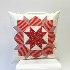 It's a classic color combination – one of the most collectible for antique quilts – and it's perfect for holiday decorating.   Red and white. Red and cream. Any shade of red – every shade of red! Ther