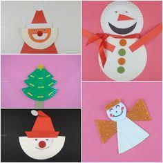 Świetne dekoracje na Boże Narodzenie nie muszą być drogie. Wykorzystaj papierowe talerzyki!