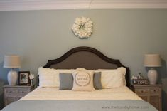 Rustic, Shabby and Glam Bedroom Decor