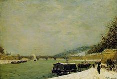Paul GAUGUIN «La Seine au pont d'Iena»