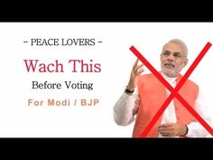 NareNder Modi exposed here!! Is there anyone who can judge him..??WATCH THIS Before Voting for Modi /BJP - YouTube