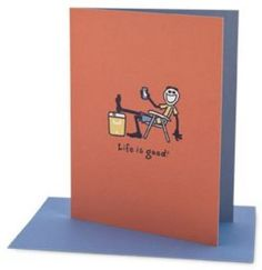 LIFE IS GOOD Stay Cool Colorblock Card #FathersDay #ForDad