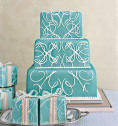 calligraphy cake.