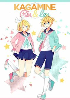 Kagamine Rin & Len ~ Sailor Fuku