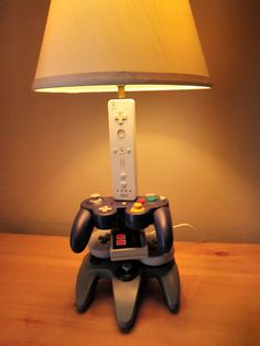 Nintendo History Evolution Sculpture Desk Lamp