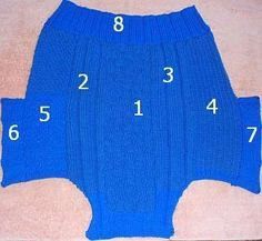 Step-by-step instructions for our basic knitted dog sweater pattern.
