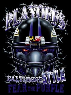 Fear the Purple! Nfl Ravens, Nfl Baltimore Ravens, Ravens Wreath, Ed Reed, Raven Logo, Sports Wreaths, American Football, Purple, Raves