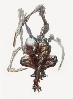 ArtStation - iron spiderman, Jong Hwan