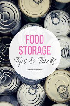 Food Storage for Families- Are You Prepared? #foodstorage #yearssupply #followtheprophet #lds #mormon #preparedness