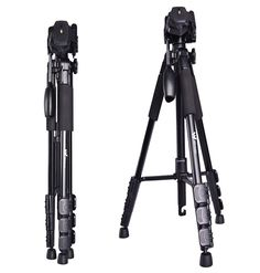 Winbee Lightweight Tripods for Cameras with Carry Bag Professional Aluminum Travel Tripod for DSLR