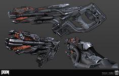 Unused Doom guns
