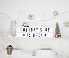 Time to start checking off your shopping list, and our lightboxes are perfect for the person who has everything! Christmas Hanukkah, Christmas Morning, Christmas Gifts, Xmas, My Cinema Lightbox, Led Light Box, Marquee Sign, Kwanzaa, Christmas Shopping