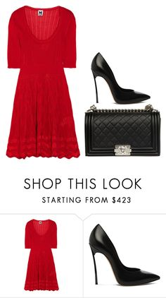 """""""Untitled #11"""" by minimalsimplicity ❤ liked on Polyvore featuring Missoni, Casadei and Chanel"""