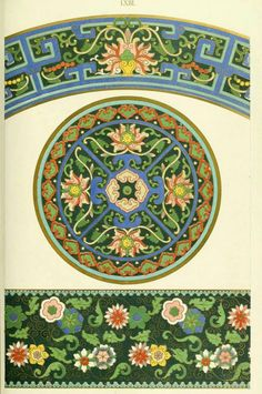 Examples of Chinese Ornament - Owen Jones (1867)