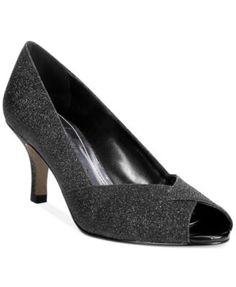 afc4551df6f7 Easy Street Ravish Evening Pumps   Reviews - Pumps - Shoes - Macy s. Silver  Wedding ...