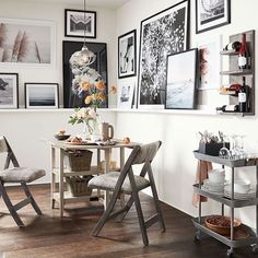 Pottery Barn's New Small-Space Furniture Collection Is Perfect for Your Teeny Tiny Apartment | Brit + Co