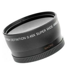 DSLR Wide Angle and Macro Lens - Super cheap too!