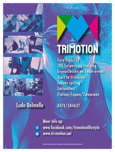 leaflet A5 formaat Trimotion Jan C