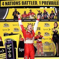 Harvick wins 2014 Championship, Homestead Raceway, Florida