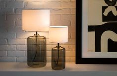 My House, Table Lamps, Lighting, Glass, Interior, Design, Home Decor, Decoration Home, Drinkware