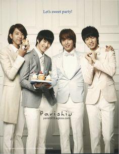 2010.12.29 CNBLUE Calendar : Lee Jong Hyun, Lee Jung Shin, Jung Yong Hwa, Kang Min Hyuk
