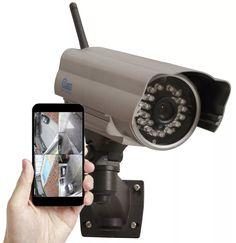 (1) Camera Ip Wireless Externa Prova Dágua Internet Noite Dia - R$ 199,99 em Mercado Livre