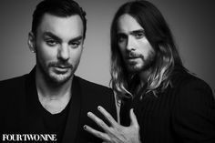 Jared and Shannon Leto photographed for FourTwoNine by Damon Baker