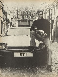 Look At The New Saint - Ian Ogilvy. Raymond, Picture Boxes, New Saints, Test Card, Best Actor, Spy, Lotus, Singers, Mystery