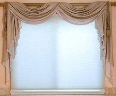Instructions On How To Hang A Scarf Valance Great Ideas Pinterest Curtain