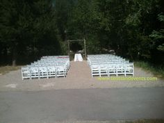 Silverthorne Pavilion - Ceremony pad by the Blue River, can accommodate around 100 people Festival Wedding, Pavilion, Wedding Designs, Tent, Colorado, How To Memorize Things, River, Party, People