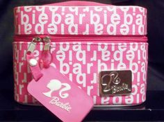 2003 Mattel's Barbie Limited Issue Pink & White Accessories Carry Case…