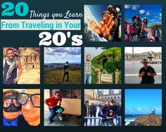 20 things you learn from Traveling the world