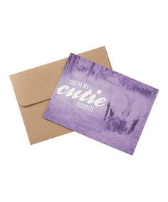 Another great find on #zulily! 'You're My Cutie Patootie' Greeting Card Set by Southern Fried Design Barn #zulilyfinds