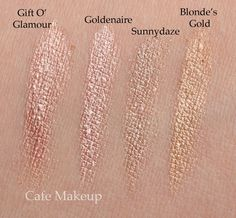 mac tan pigments @Ingrid Taylor