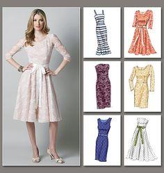 Vogue+Sewing+Patterns | Vogue Patterns 8766 - MIsses Dress