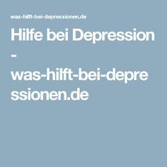 Hilfe bei Depression - was-hilft-bei-depressionen.de