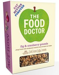 Kick Start Your Day With A Brilliant Breakfast. FIG & CRANBERRY GRANOLA