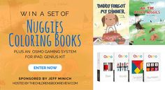 Nuggies Coloring Edition by Jeff Minich - Book Giveaway