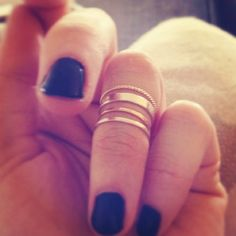 Catbird First Knuckle Rings.