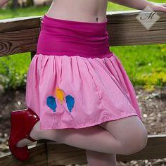 My little Pony Skirt Pinkie Pie MLP FiM Cosplay your size Kawaii